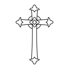 Catholic Cross design