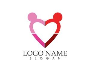 Love people logo design