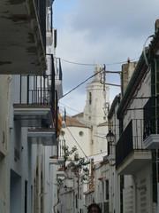 Cadaqués, pueblo bonito de la comarca del Alto Ampurdán en la provincia de Girona, Cataluña (España)
