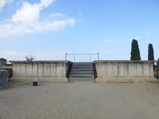 Yacimiento Arqueológico de Empúries (L'Escala) Cataluña,España. Es el único yacimiento arqueológico  donde conviven los restos de una ciudad griega Emporion con las de una ciudad romana, Emporiae