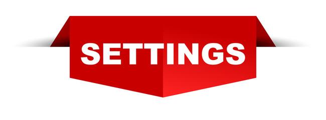 banner settings