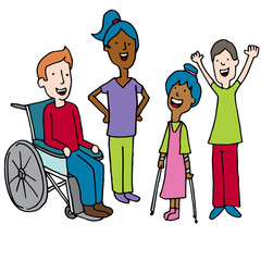 Diverse Disabled Children