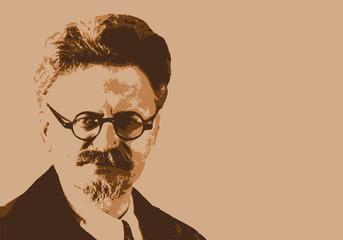Trotsky - portrait - Russie - personnage historique - révolution - russe - personnage célèbre - histoire