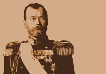 Nicolas 2 - Tsar - portrait - Nicolas II - Russie - personnage historique - révolution - russe