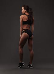Beautiful sporty lady