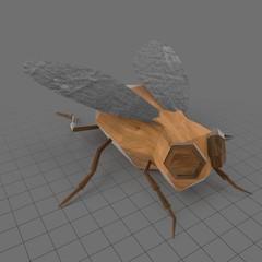 Stylized fly