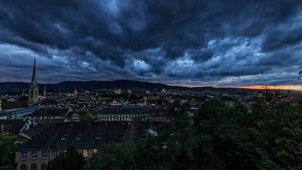 Stormy Zurich