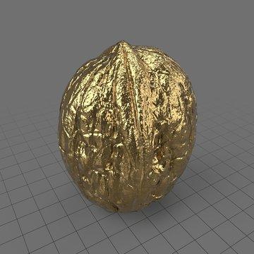 Decorative metal walnut