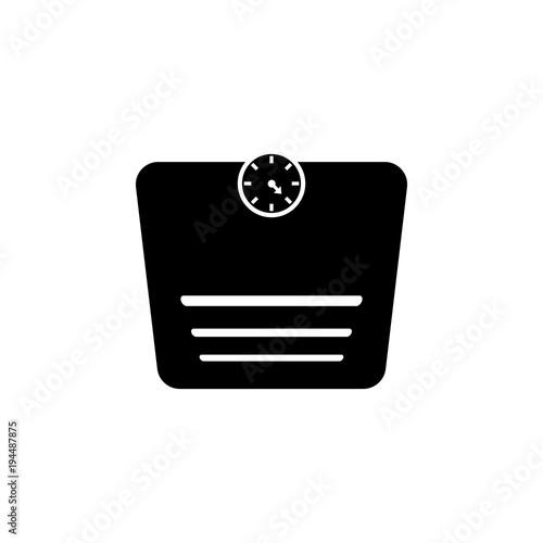 Bathroom Scales Icon And Sauna Element Premium Quality Graphic Design Signs