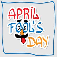 Illustration Celebrating April Fools' Day