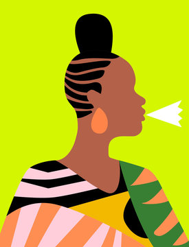 Patterned Lady 4