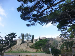 San Martín de Ampurias en la Costa Brava de Girona, en Cataluña. Pertenece al municipio de La Escala
