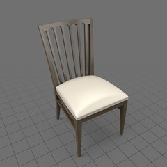 Hardback dining room chair