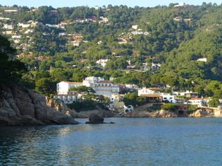 Bagur  / Begur, localidad de la provincia de Gerona en la Costa Brava situado en la comarca catalana del Bajo Ampurdán (Cataluña,España)