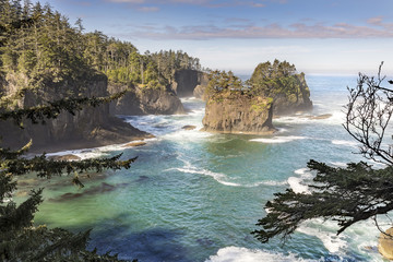 Cape Flattery in the Pacific Northwest Washington