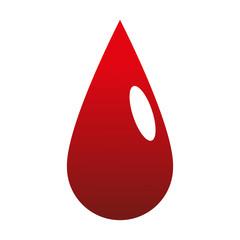 Blood drop symbol vector illustration graphic design