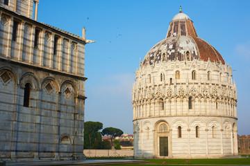 Duomo and Baptistery, Pisa, Italy