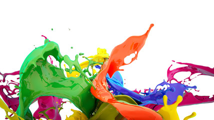 colors splash