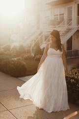 Bride in the Sunlight