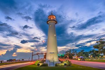 Fotomurales - Biloxi, Mississippi, USA Lighthouse