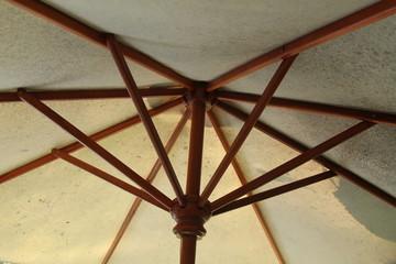 umbrella from below