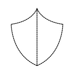 dotted shape security shield protection object to privacy