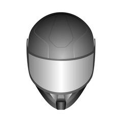 motor racing helmets with glass visor
