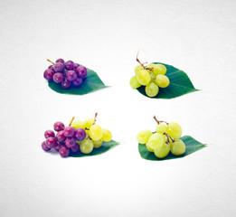 Grapes or fresh grapes on a background.