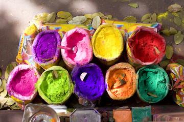 Keuken foto achterwand India bright Indian colors , Jaipur, Rajasthan, India