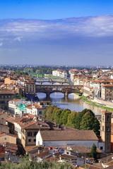 フィレンツェの町並み