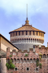ミラノのスフォルツァ城