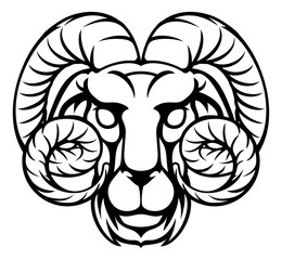 Aries Ram Zodiac Horoscope Sign