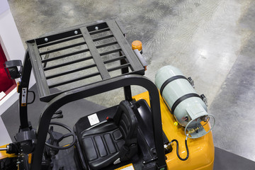 The Industrial Forklift truck