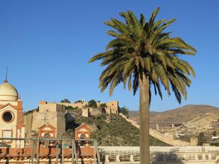 Second Arabic castle in Almeria