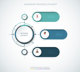 Vector Infographic 3d circle label  design. Business concept, Infograph with 3 number options, steps or processes. Infographic element for layout, process diagram,parts,chart,graphic,info graph