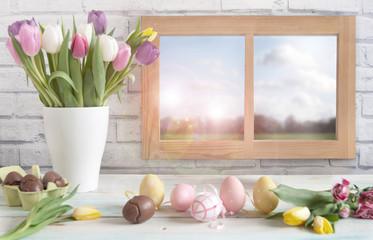 Easter window