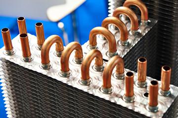 Copper tube radiator