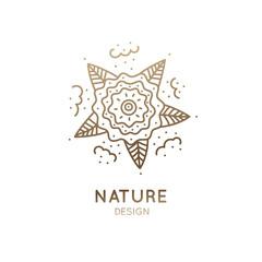 Logo natural garden