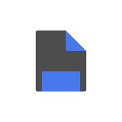 File icon. Vector.