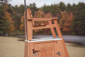 Lifeguard Chair, New Hampshire
