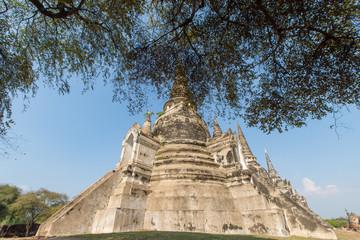 タイ・アユタヤ・遺跡・ワット・プラ・シーサンペット