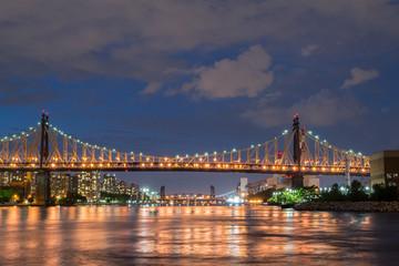 Queensboro bridge from Long Island City