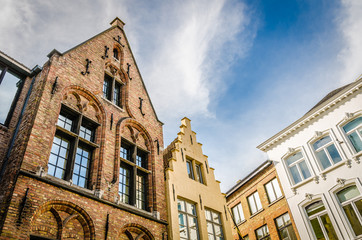 Traditional Belgian facades