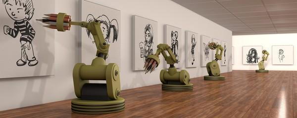 robots met artistiek talent