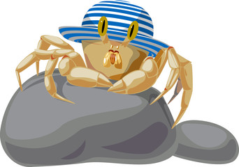 vector crab t-shirt picture summer