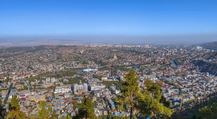 View of Tbilisi, Georgia