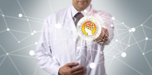 Scientific Researcher Initiating AI Application