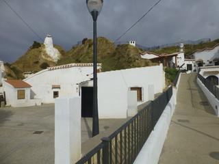 Guadix,ciudad  de Granada  perteneciente a la comunidad autónoma de Andalucía (España)