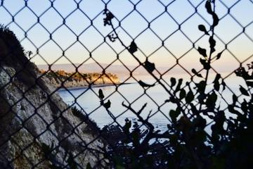 Malibu Beach fence view