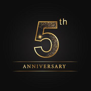 anniversary,aniversary, five years anniversary celebration logotype. 5th anniversary logo. fifth years.